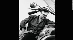 Also good for the bad-boy image: a motorcycle. Elvis had animal magnetism, singer Ian Hunter said He was even sexy to the guys. I cant imagine what the chicks used to think.
