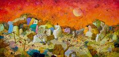 """Landscape"" 30x60 cm, Angel Gerdzhikov"