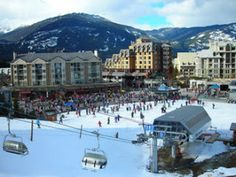 Planning to go on a skiing trip? Whistler Mountain in Canada is one of the best place to go for a skiing during the winter season. #travel #travelerdreams #Whistler #Skiing