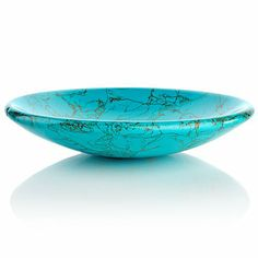 Jay King Turquoise-Color Multigemstone Composite Bowl