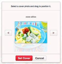 Pinterest lança capa para boards
