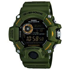 Casio G-Shock Master GW-9400-3er Funkuhr Solar Multifunktion 54 mm