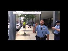 POLICE STATE - Toronto Cops Intimidate & Block Citizen Legally Filming An Arrest - YouTube