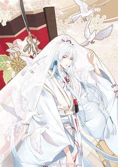 Anime Oc, Chica Anime Manga, Anime Angel, Cute Anime Boy, Anime Art Girl, Character Art, Character Design, Fantasy Art Men, L5r