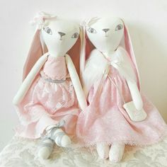 @hoppdolls handmade bunny heirloom dolls