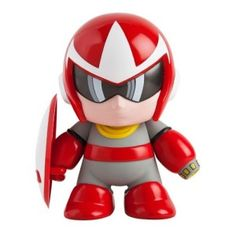 Proto Man Medium Vinyl Figure Proto Man from the hit Mega Man video game series.
