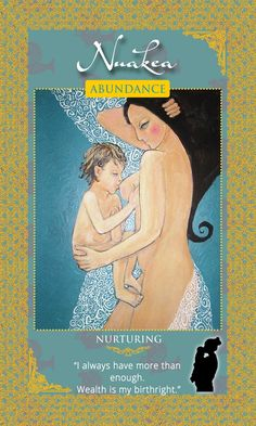 """""""I always have more than enough. Wealth is my birthright.""""  Hawaiian Goddess Nuakea   Womanifesting is the feminine energy, law of attraction practice of manifesting your desires and power. Womanifesting Goddess Affirmation Manifestation Cards."""
