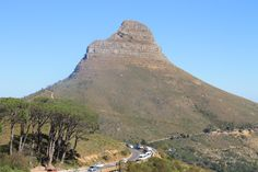 "The ""Lions Head"" mountain, Capetown"