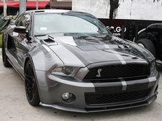 Ford wasted very little attaching Carroll Shelby to the Mustang project. By the time the first Mustang roll. Ford Mustang Shelby, Shelby Gt500, Mustang Cars, Mustang Gt500, Ford Gt, Sexy Cars, Hot Cars, Motor Car, Muscle Cars