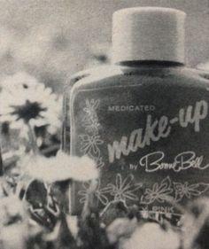 Bonne Bell Medicated Makeup, 1967 Bonne Bell, Cosmetic Packaging, Perfume Bottles, Make Up, Ads, Cosmetics, Pink, Beauty, Vintage