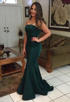 Prom Dresses For Cheap Mermaid Prom Dresses Simple Prom Dresses Backless Prom Dresses Green Prom Dresses Prom Dresses Long Pageant Dresses For Women, Strapless Prom Dresses, Prom Dresses 2018, Mermaid Prom Dresses, Cheap Prom Dresses, Prom Party Dresses, Sexy Dresses, Dress Outfits, Dress Shoes