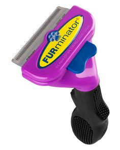 Furminator deShedding Tool...I don't know how anyone can survive without one of these! ...unless you have a pet that has really short, stiff hairs, in which case you probably have a curry brush.