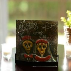 Day of the Dead Tealight Candle Holder | Kirklands