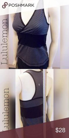 Lulu tank for yoga athlete fitness leisure 🔥🔥🔥 Built in support shelf bra for this Lululemon tank. Gently used condition.  No rips tears or stains though a bit faded. lululemon athletica Tops Tank Tops
