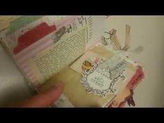 Shabby Chic junk journal for Yvonne - YouTube