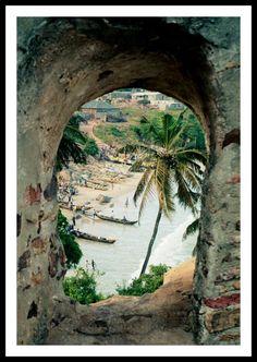 Fort Godd Hope, Ghana - det mest cool og venlige sted jeg nogensinde har overnattet!