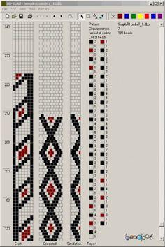 7 around tubular bead crochet rope pattern Crochet Bracelet Pattern, Crochet Beaded Necklace, Bead Crochet Patterns, Bead Crochet Rope, Beaded Jewelry Patterns, Beading Patterns, Beaded Crochet, Rhinestone Crafts, Beadwork Designs