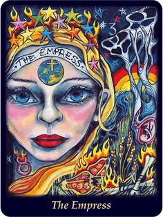 The Empress - Bonefire Tarot