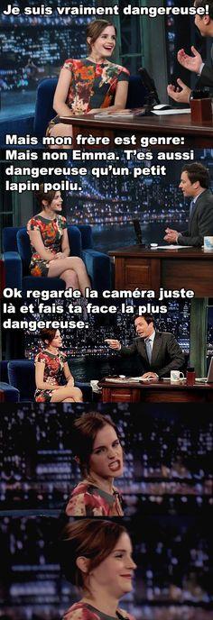 Voici pourquoi on adore Emma Watson