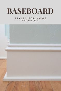 Amazing Baseboard Styles for Home Interior Baseboard Styles, Baseboard Molding, Diy Molding, Baseboard Ideas, Molding Ideas, Country Interior Design, Vintage Interior Design, Transitional Home Decor, Contemporary Home Decor