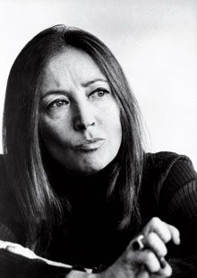 Being a woman is so fascinating. It is an adventure that requires such a courage, a challenge that never ends. (Oriana Fallaci)