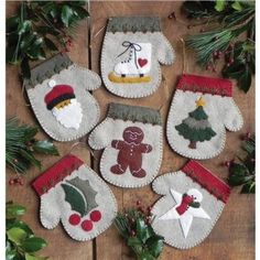 Amazon.com - Rachel's Of Greenfield Warm Hands Ornament Kit Set Of Six