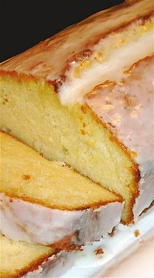 savory nest: Super Lemony Yogurt Cake with Lemon Juice Glaze