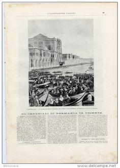 1898 Italian Magazine