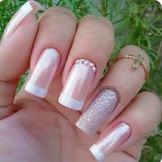 50 Beautiful Nail Art Designs & Ideas Nails have for long been a vital measurement of beauty and Sexy Nails, Love Nails, Pretty Nails, Fun Nails, Ambre Nails, Wedding Nails Design, Cute Acrylic Nails, Stylish Nails, Cool Nail Designs