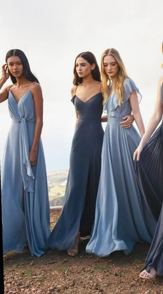 Jenny Yoo Spring 2019 Bridesmaids Chic bridesmaid dresses that you definitely want to wear again. Jenny Yoo's bridal shower collection for Spring 2019 (with post-wedding), which can be shortened…