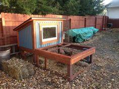 Passive solar chicken coop