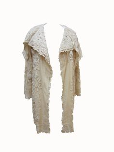 Hey, I found this really awesome Etsy listing at https://www.etsy.com/listing/155530382/victorian-creme-colored-embroidered-coat