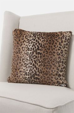Giraffe at Home 'Luxe Leopard' Throw Pillow (Online Only) available at #Nordstrom