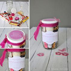 Muttertag Geschenk im Glas - Mamas Notfallsausrüstung - Survival Kit