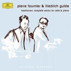 BEETHOVEN Works Cello - Fournier/Gulda -Deutsche Grammophon