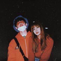 Hanbin and Lisa❤️ Ulzzang Couple, Ulzzang Girl, Kpop Couples, Cute Couples, Korean Products, Ulzzang Korea, Kim Hanbin, Felix Stray Kids, Jungkook Cute