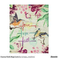 Canvas Faith Hope Love Dream Bath, Faith Hope Love, Knobs And Pulls, Nursery Room, Wrapped Canvas, Keep It Cleaner, Christianity, Meditation, Vibrant