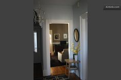 entry way, living room BOSTON