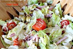 Columbia Restaurant's Salad – Can't Stay Out of the Kitchen Hcg Recipes, Salad Recipes, Cooking Recipes, Healthy Recipes, Candy Recipes, Summer Dishes, Summer Salads, 1905 Salad Recipe, Columbia Restaurant
