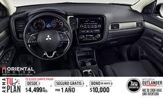 Al pulsar el boton de encendido, puedes arrancar el motor de tu Mitsubishi Outlander