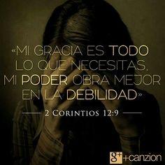 Mis debilidades se convierten en fortalezas, si las rindo al Señor Jesús.