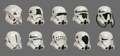 Stormtrooper's Helmet Designs, Hung Bui on ArtStation at https://www.artstation.com/artwork/stormtrooper-s-helmet-designs