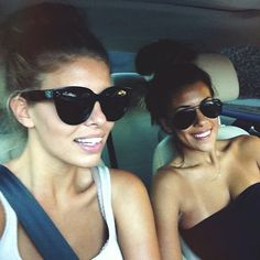 Natasha Oakley and Devin Brugman