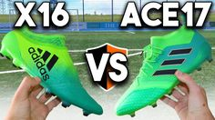 NEW Turbocharge Boots! adidas X16 vs ACE17 Cleats Battle Feels 22 Sneakers...  We put the adidas X 16+ Purechaos and the Ace 17.1 Primeknit from the NEW Turbocharge pack to a battle too see which one comes out on top! More Boot Battles:...