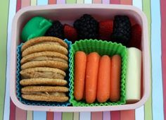 Lunch Box Ideas--I think the girls may be too old for this fun stuff.  I'll have to wait until Quinn gets older....