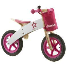 Bicicleta sin pedales rosa Janod - Bikloon Starlette