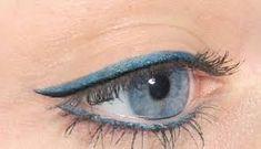 Permanent Make up Eyeliner blue - Permanent Makeup Eyeliner Make-up, Permanent Eyeliner, Eyeliner Tattoo, How To Apply Eyeliner, Makeup Tattoos, Green Eyeliner, Eyebrow Tattoo, Eyeliner Perfecto, Different Eyeliner Styles