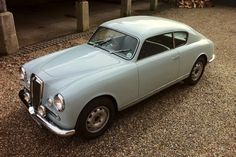 1955 Lancia Aurelia B20 GT For Sale Front Three Quarter View Elevated