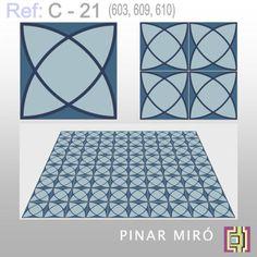 Cement tile C-21 - Online catalog