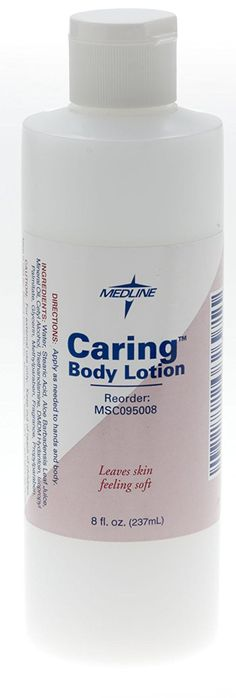 Medline Caring Body Lotion, 8 oz (Pack of Body Wash, Body Lotion, Packing, How To Apply, Skin Care, Amazon, Image Link, Health, Fitness